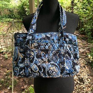 Vera Bradley Blue Paisley print shoulder bag